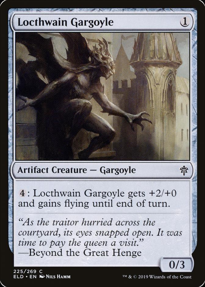 Locthwain Gargoyle [ELD]