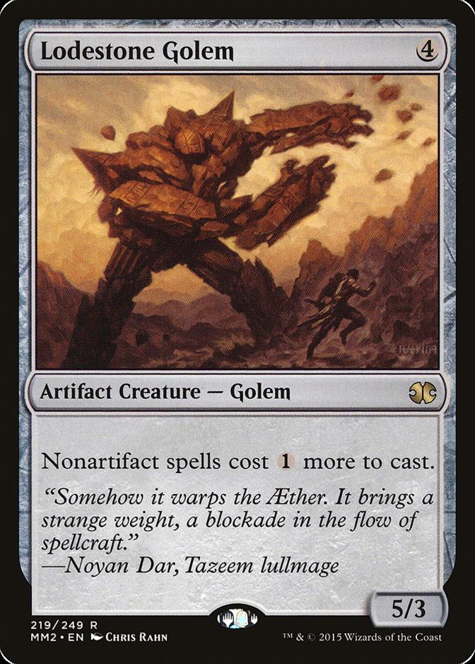 Lodestone Golem [MM2]
