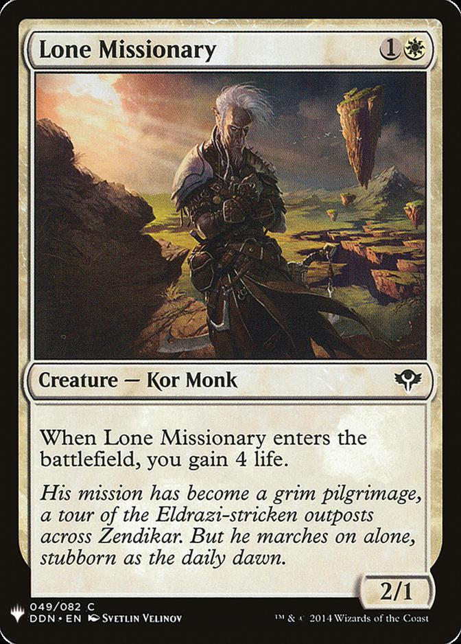 Lone Missionary [MB1]
