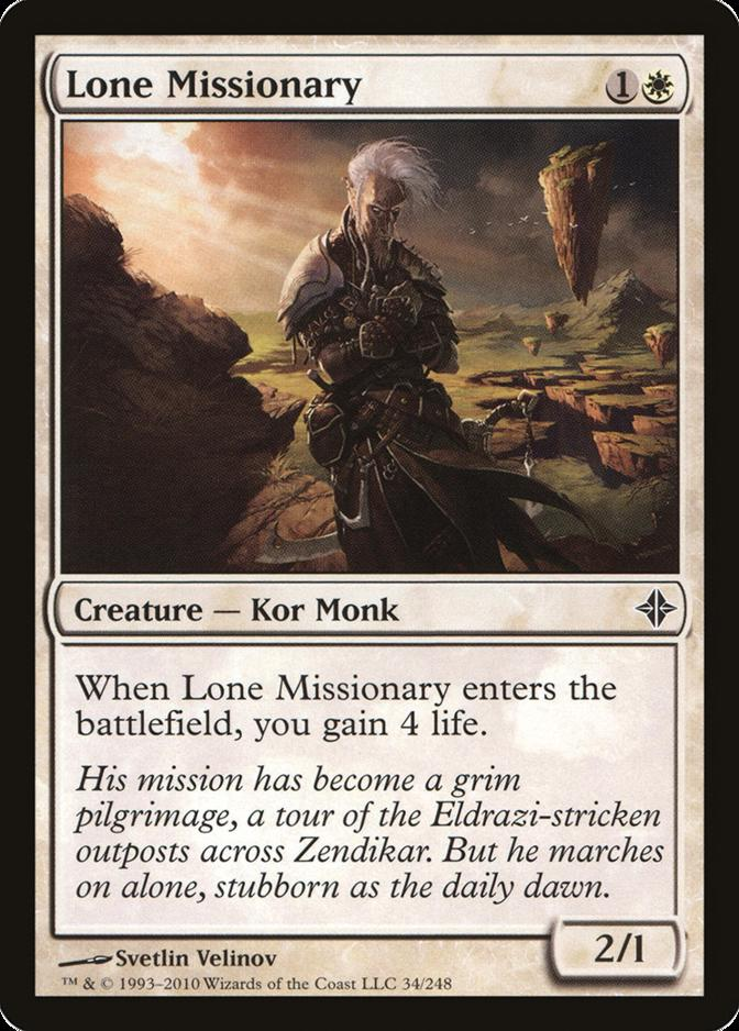 Lone Missionary [ROE]