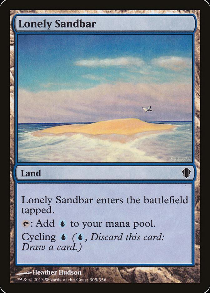 Lonely Sandbar [C13]