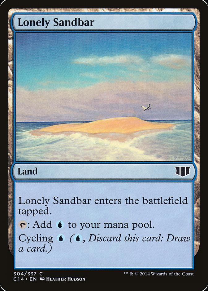 Lonely Sandbar [C14]
