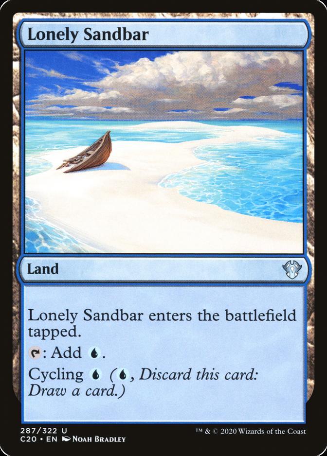 Lonely Sandbar [C20]