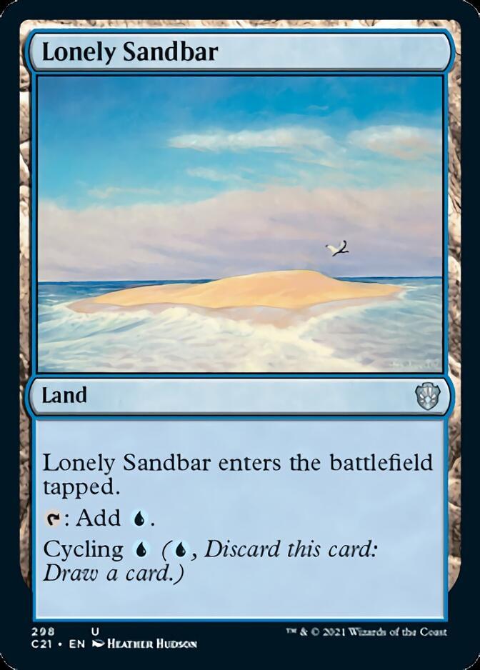 Lonely Sandbar [C21]