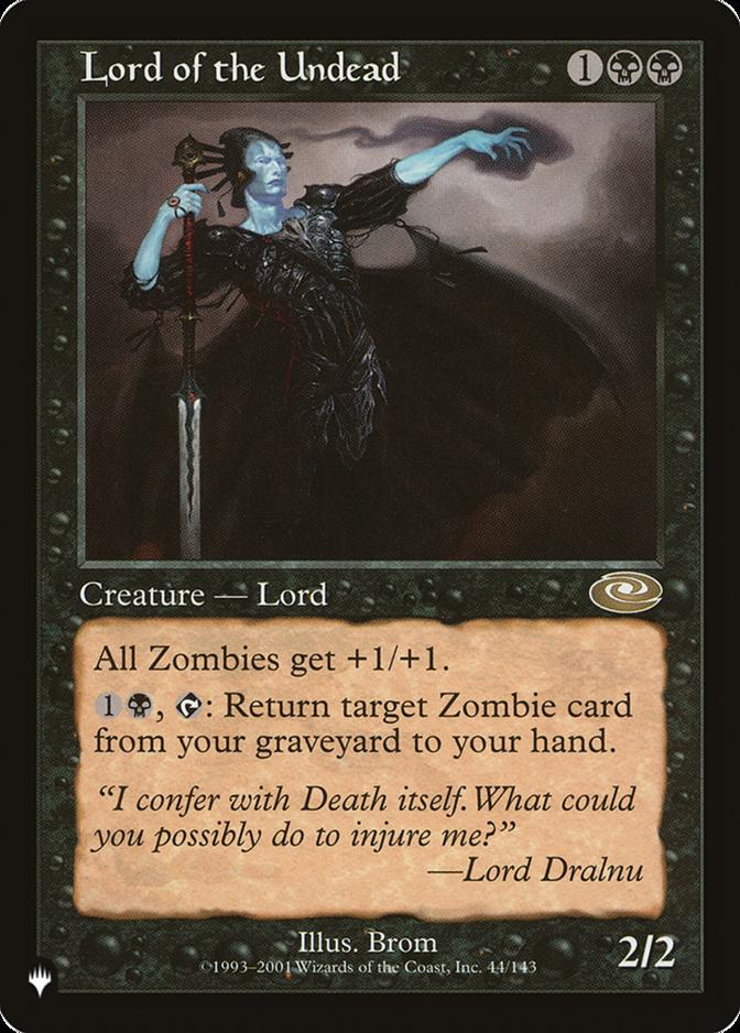 Lord of the Undead [PLIST]