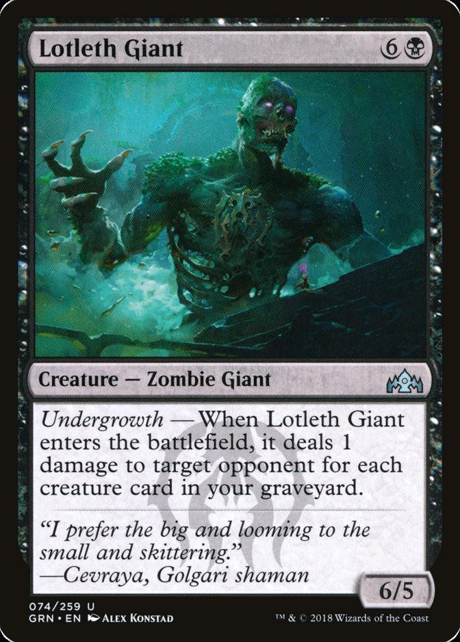 Lotleth Giant [GRN]