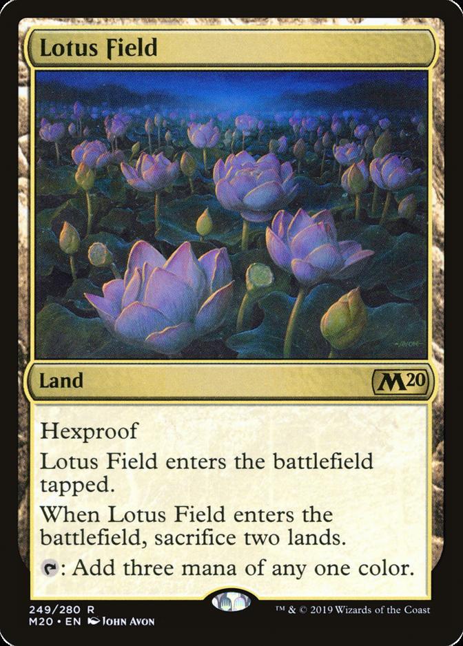 Lotus Field [M20] (F)