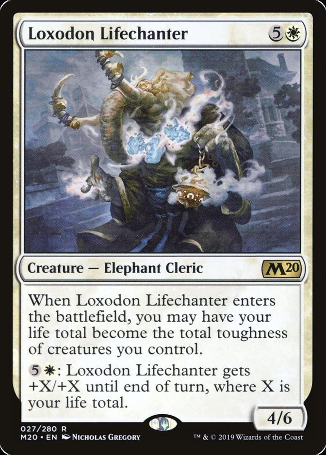 Loxodon Lifechanter [M20]