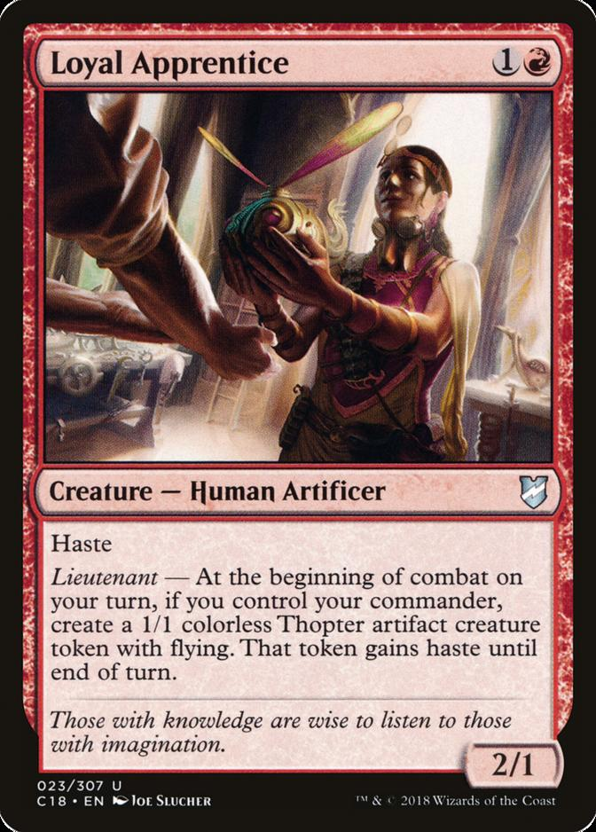 Loyal Apprentice [C18]