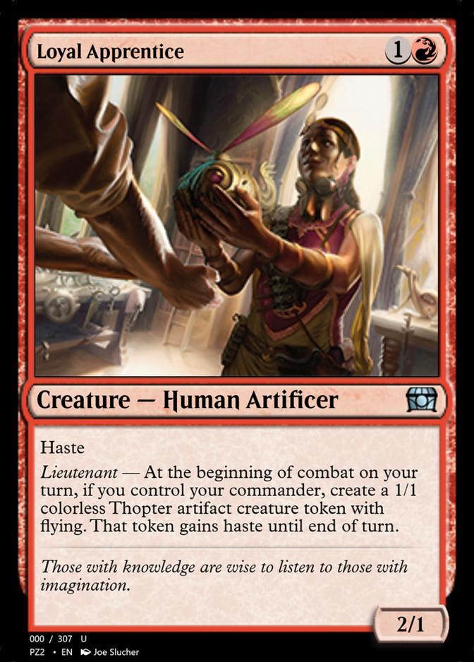 Loyal Apprentice [PZ2]