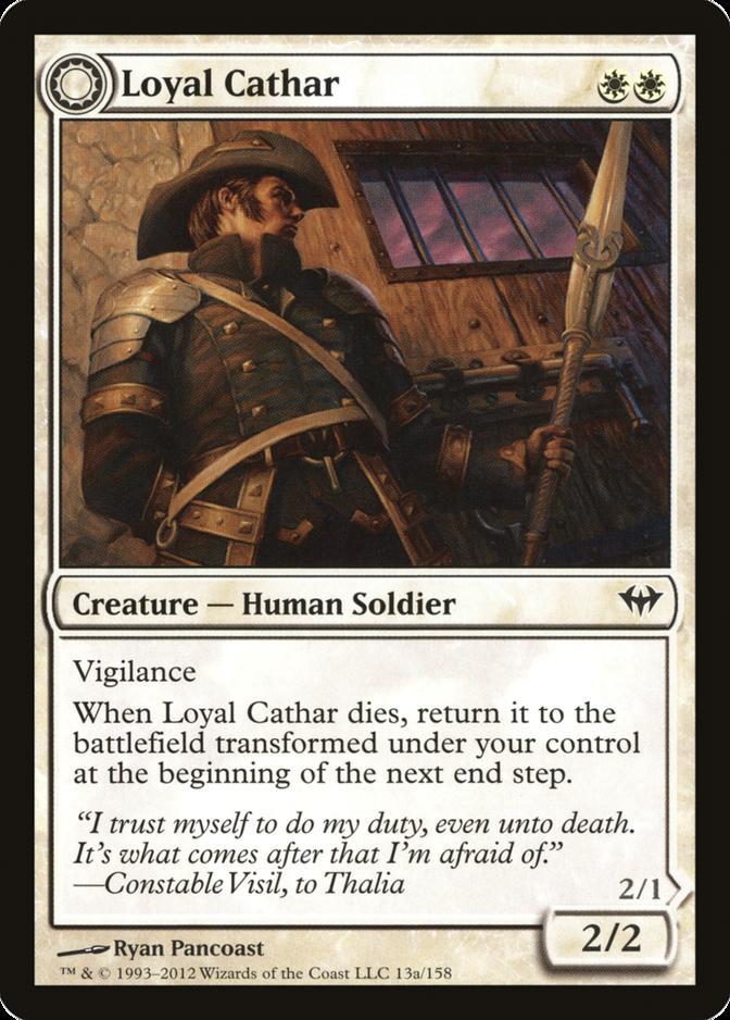 Loyal Cathar [DKA]
