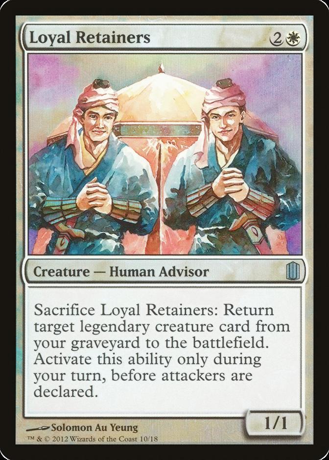 Loyal Retainers [CM1] (F)
