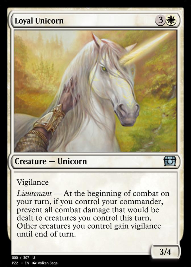 Loyal Unicorn [PZ2]