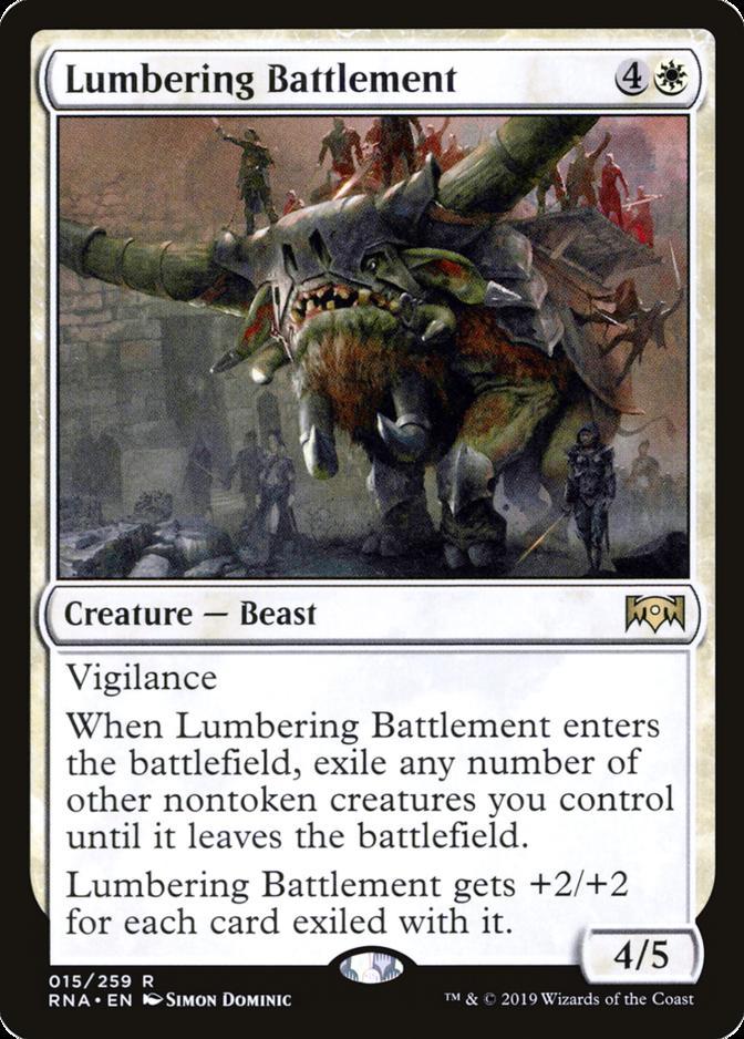 Lumbering Battlement [RNA]