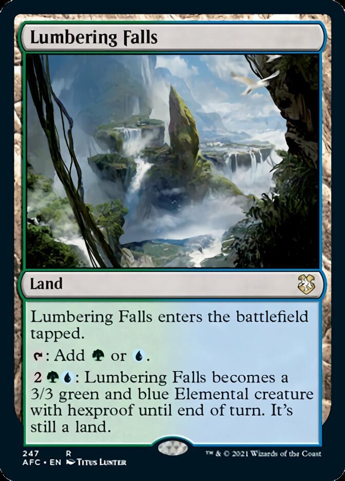 Lumbering Falls [AFC]