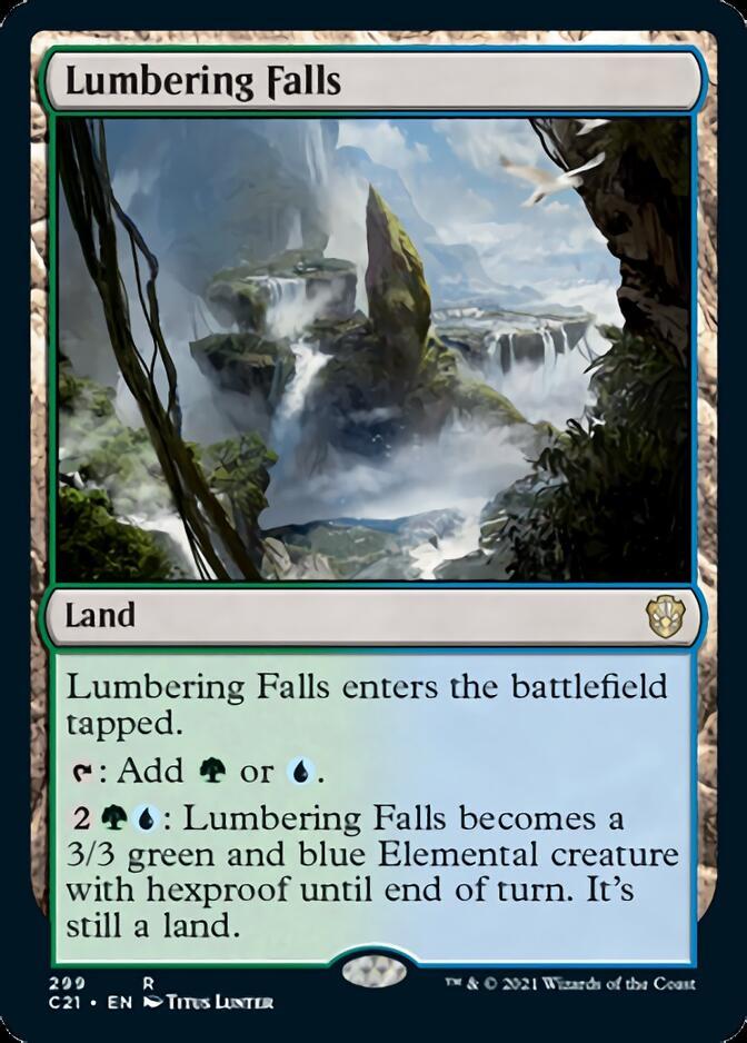 Lumbering Falls [C21]