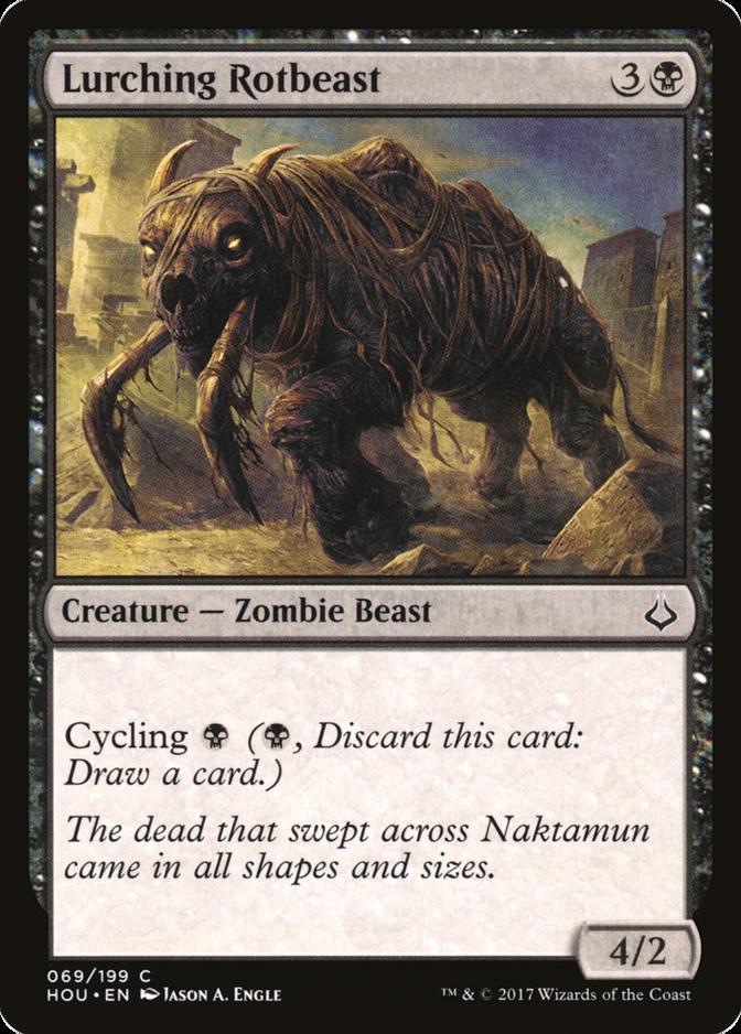 Lurching Rotbeast [HOU]