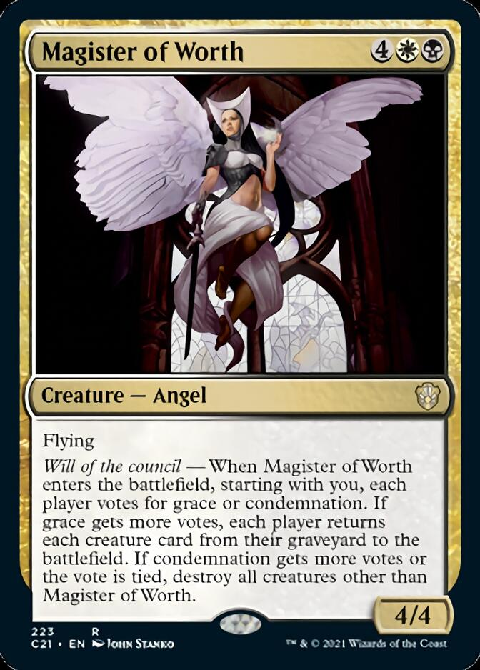 Magister of Worth [C21]