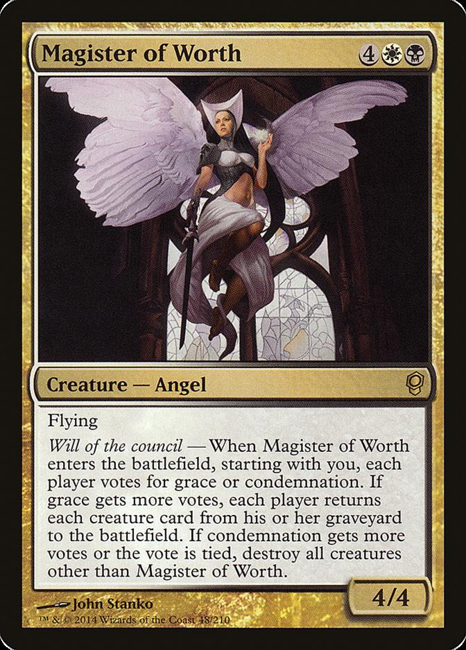 Magister of Worth [CNS]