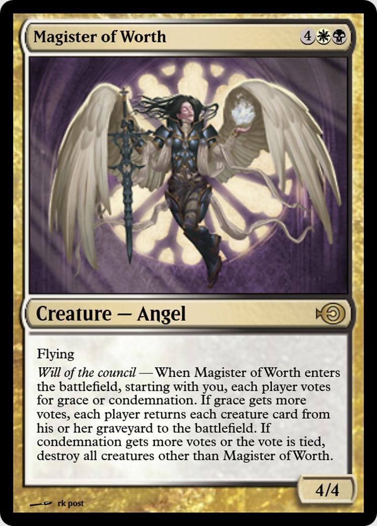 Magister of Worth [PRM]