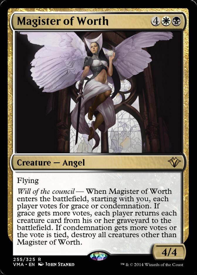 Magister of Worth [VMA]