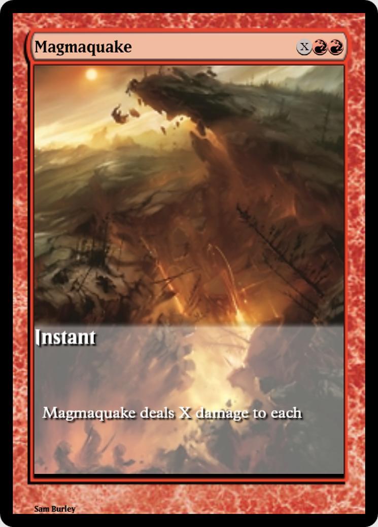 Magmaquake [PRM] (F)