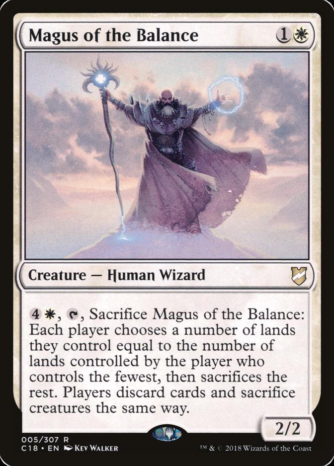 Magus of the Balance [C18]