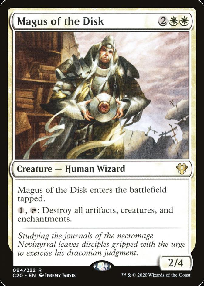 Magus of the Disk [C20]