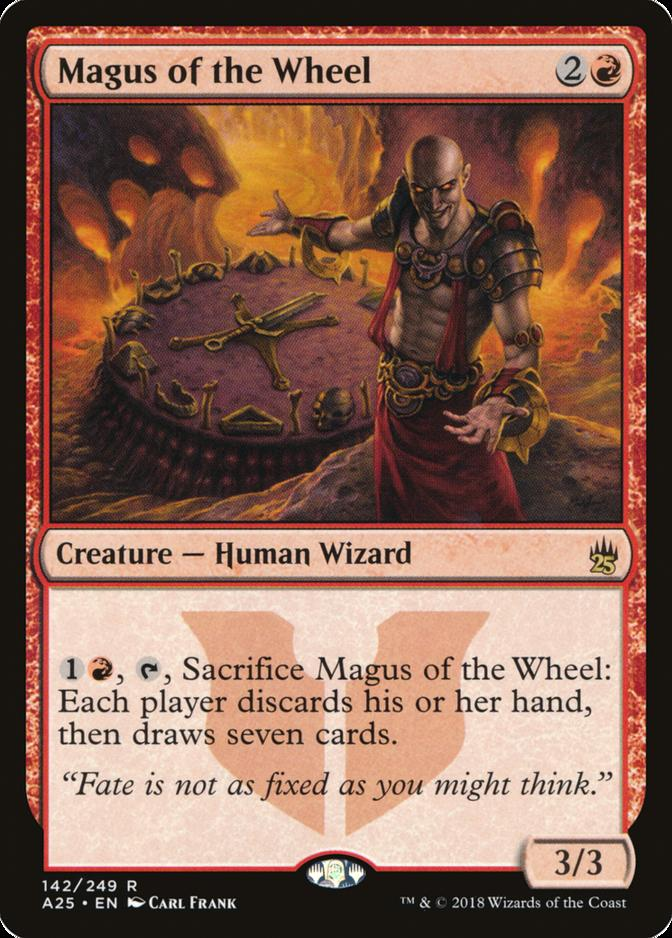 Magus of the Wheel [A25]