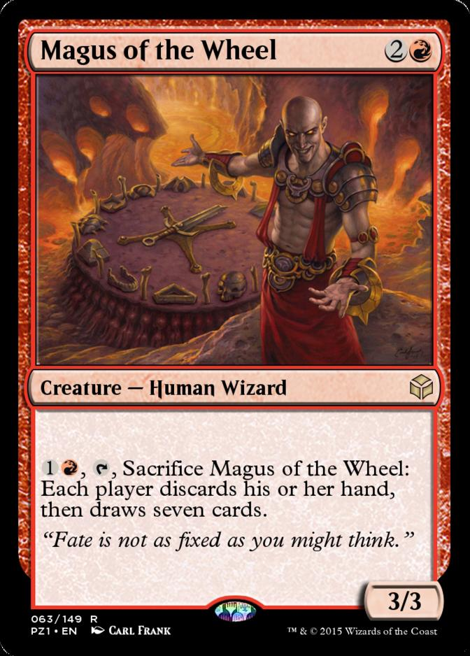Magus of the Wheel [PZ1]