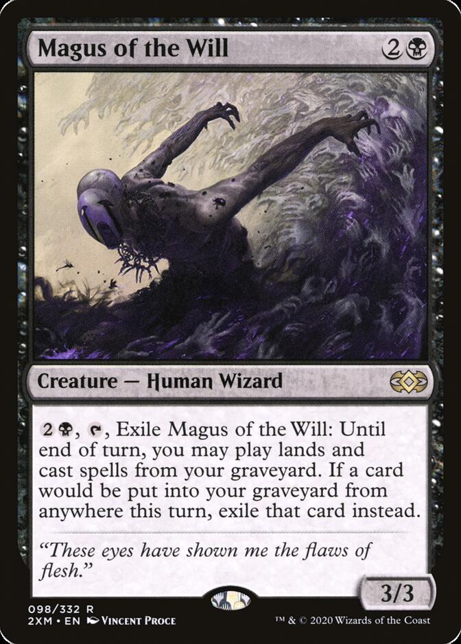 Magus of the Will [2XM]