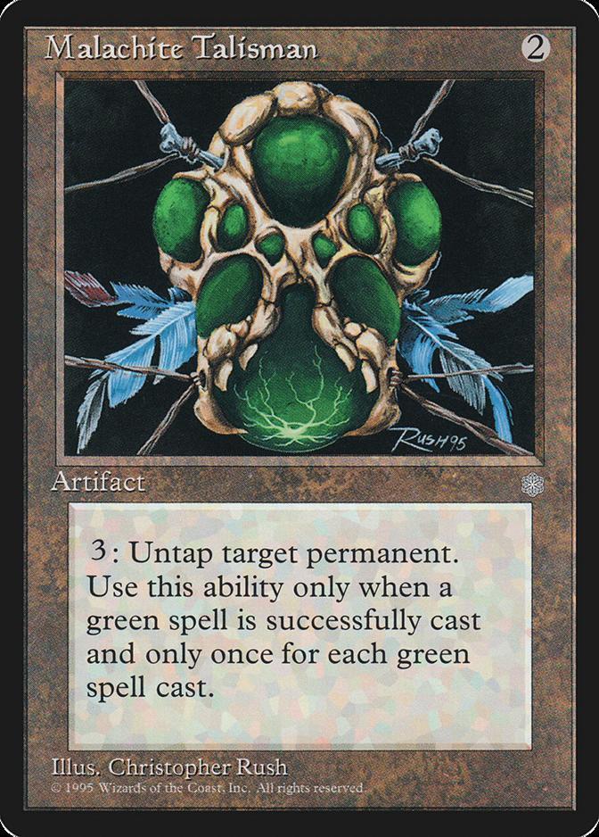 Malachite Talisman [ICE]