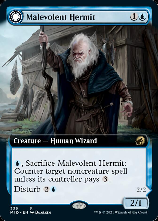 Malevolent Hermit <extended> [MID]