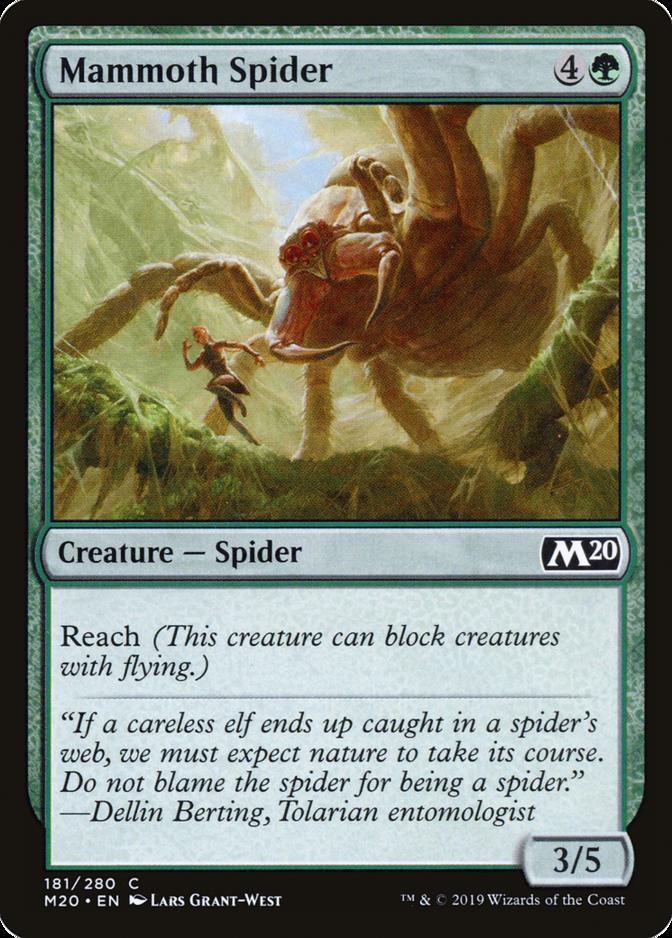 Mammoth Spider [M20]