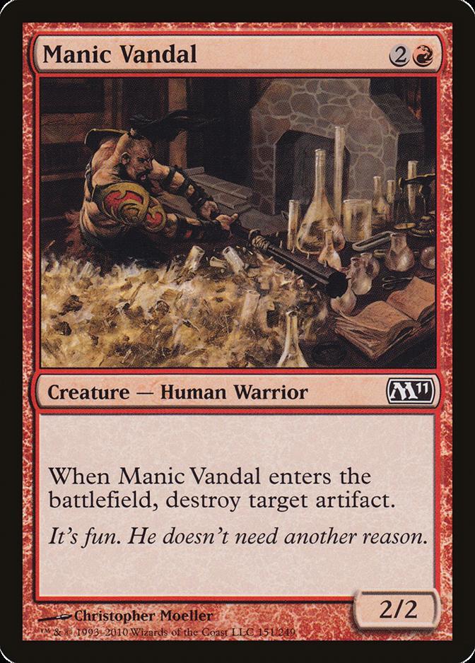 Manic Vandal [M11] (F)