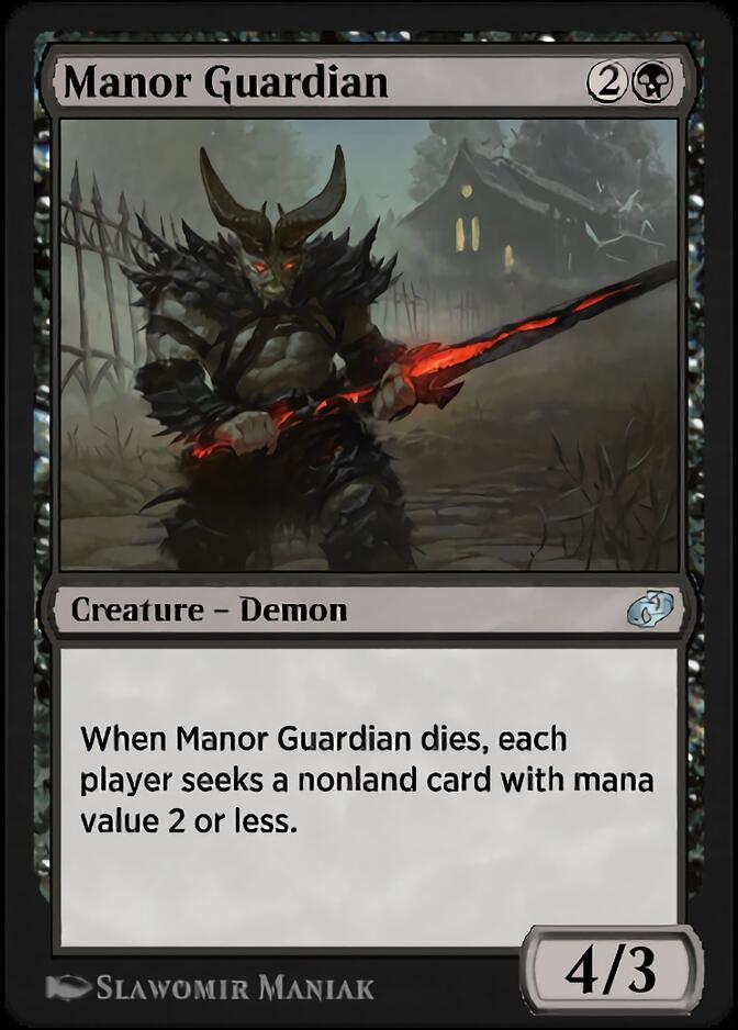 Manor Guardian [J21]