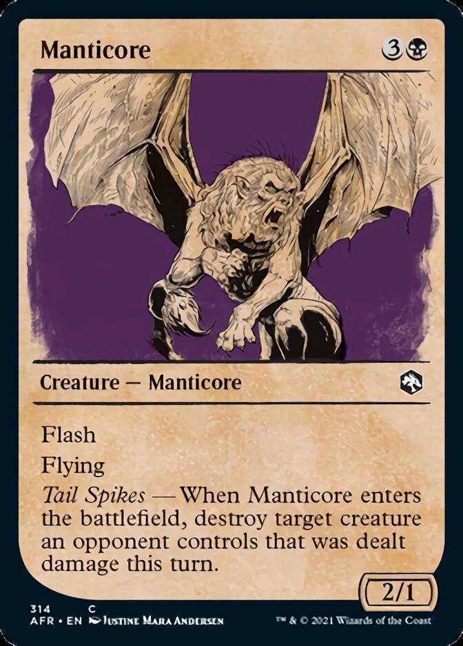 Manticore <showcase> [AFR]