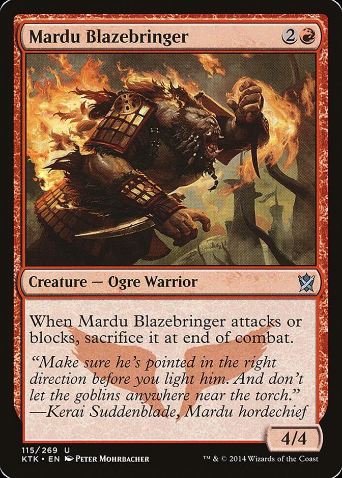 Mardu Blazebringer [KTK] (F)