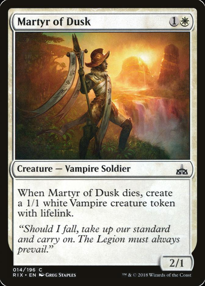 Martyr of Dusk [RIX]