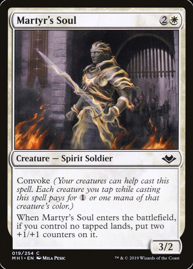 Martyr's Soul [MH1]