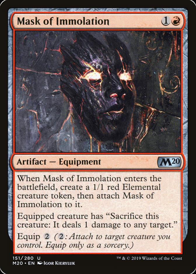 Mask of Immolation [M20]