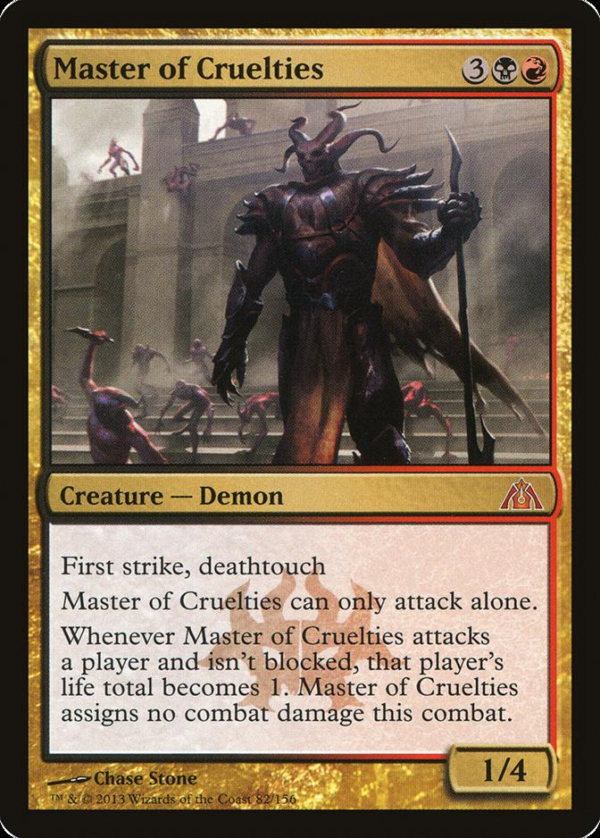 Master of Cruelties [DGM]