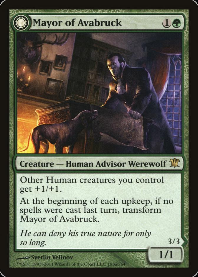 Mayor of Avabruck [ISD]