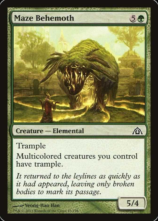 Maze Behemoth [DGM]