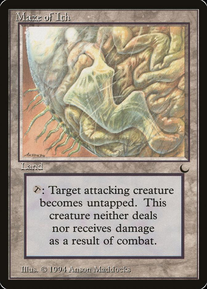 Maze of Ith 322//332 Foil Near Mint MTG Double Masters