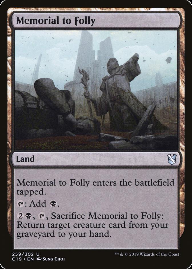 Memorial to Folly [C19]