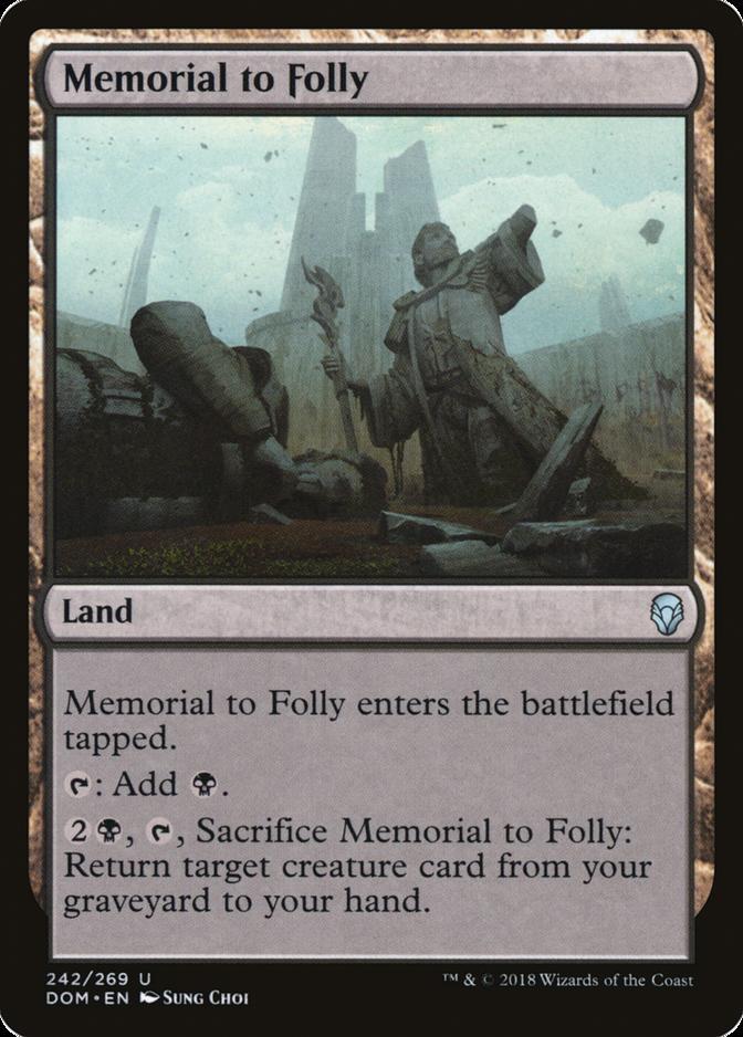 Memorial to Folly [DOM]