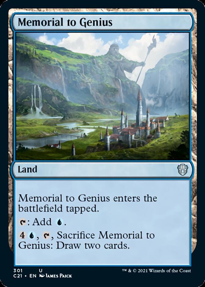 Memorial to Genius [C21]