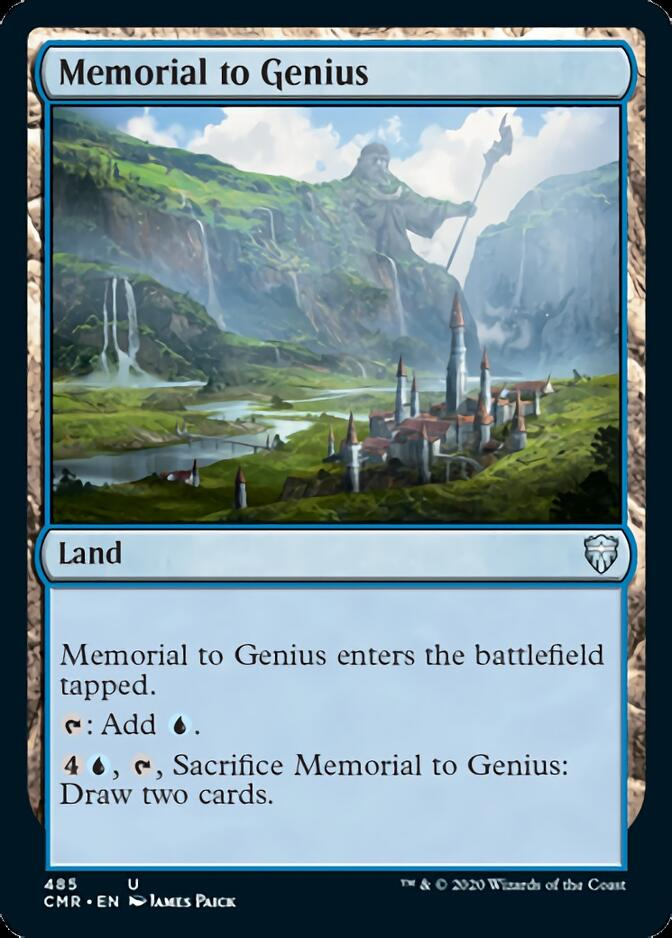 Memorial to Genius [CMR]