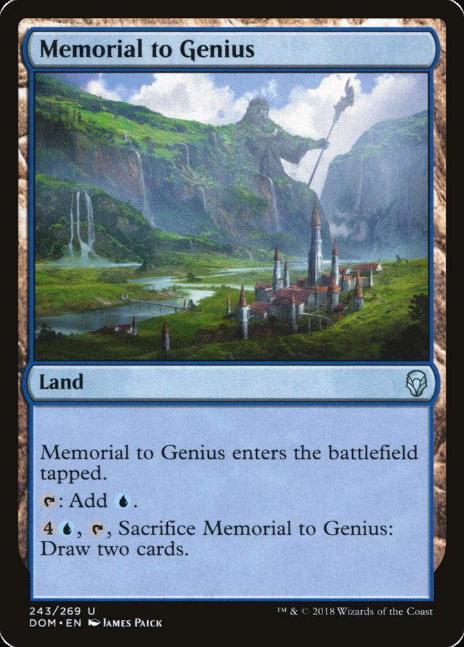 Memorial to Genius [DOM]